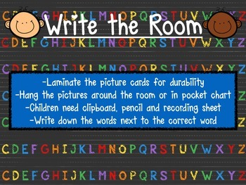 Write The Room- A-Z  Handwriting without Tears.