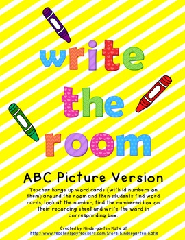Write The Room - ABC Picture Version