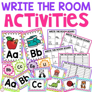 Write The Room Alphabet