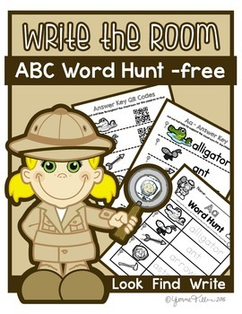Write The Room - Alphabet Word Hunt Free