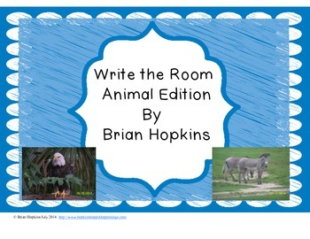 Write The Room Animal Beginning Sounds