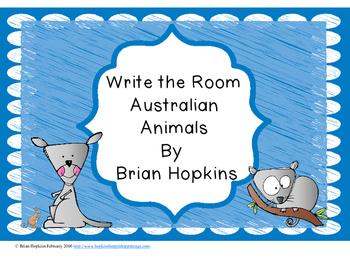 Write The Room Australia Animals Beginning Sounds