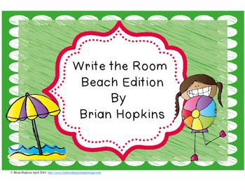 Write The Room Beach Beginning Sounds
