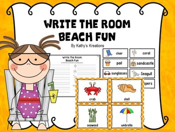 Write The Room Beach Fun