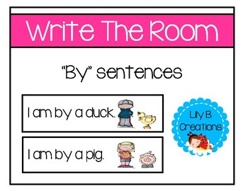 """Write The Room - """"By"""" Sentences"""