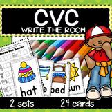 CVC Word Short Vowel Write The Room ACTIVITY
