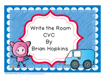 Write The Room CVC Words