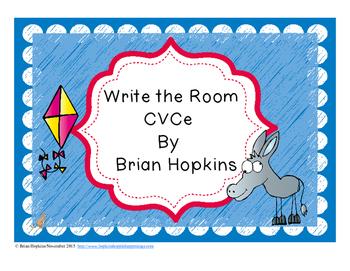 Write The Room CVCe Words