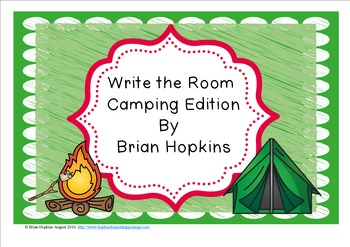 Write The Room Camping Beginning Sounds