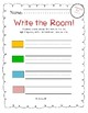 Write-The-Room Centers for National Journeys 2017 Kindergarten Unit 1
