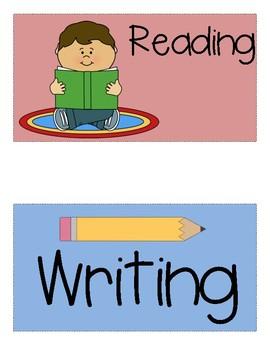 Write-The-Room Centers for National Journeys 2017 Kindergarten Unit 6