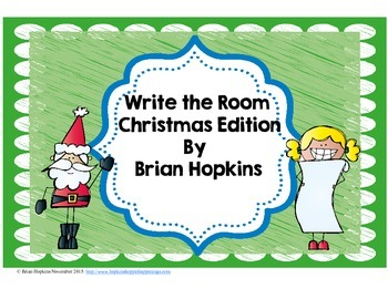 Write The Room Christmas Beginning Sounds