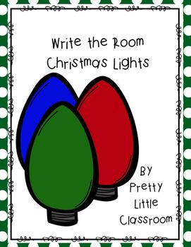 Write The Room Christmas Lights