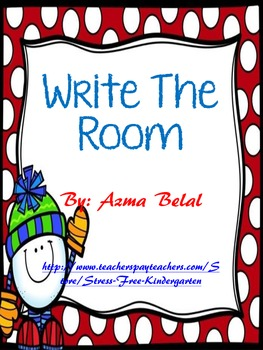 Write The Room Christmas theme