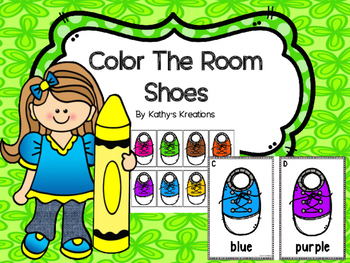 Color Words Write The Room -Shoes