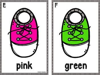 Color Word Write The Room -Shoes