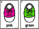 Write The Room Color Words -Shoes