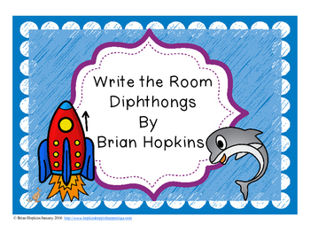 Write The Room Diphthongs