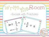 Write The Room: Division with Fractions