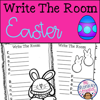 Write The Room Easter Worksheets