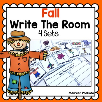 Fall Activities Write The Room