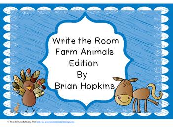 Write The Room Farm Animals Beginning Sounds