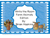 Write The Room Farm Animals Beginning Sounds