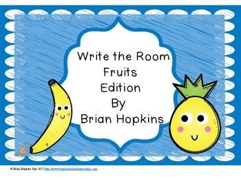 Write The Room Fruits Beginning Sounds