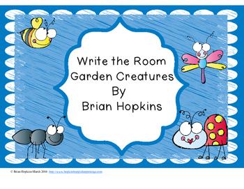 Write The Room Garden Animals Beginning Sounds