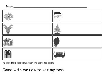 Write-The-Room Holiday Pack for Sight Words