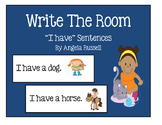 "Write The Room ~ "" I Have"" Sentences"