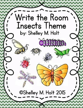 Write The Room - Insects Theme