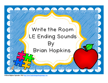 Write The Room LE ending sounds