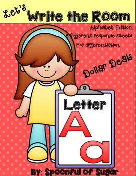 Write The Room: Letter Aa (Dollar Deal)