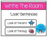 "Write The Room - ""Look"" Sentences"