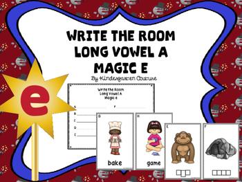 Write The Room Magic e (Long Vowel A)