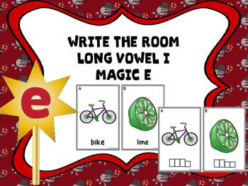 Write The Room Magic e (Long Vowel I)