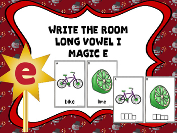 Write The Room Magic e (Long Vowel I)