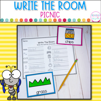 May- Write The Room and Word Boxes