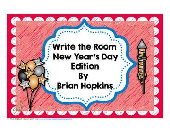 Write The Room New Years Beginning Sounds