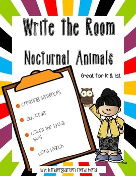 Write The Room: Nocturnal Animals