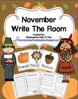 Write The Room November Edition