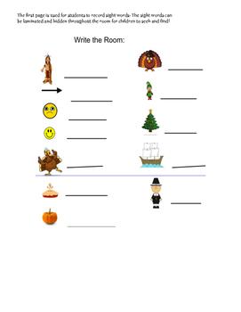 Write The Room-November Theme