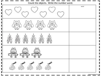 Write The Room Number Words With Matching Memory Game