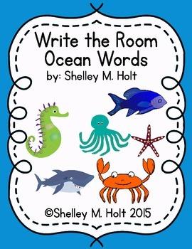 Write The Room - Ocean Theme