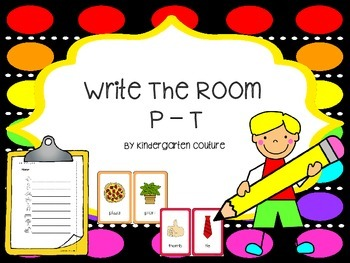 Write The Room P - T