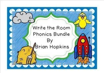 Write The Room Phonics Bundle