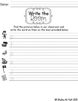 Write The Room - Pirates Theme