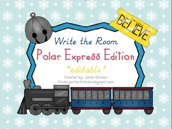 Write The Room - Polar Express Edition *editable*