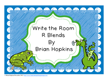 Write The Room R Blends